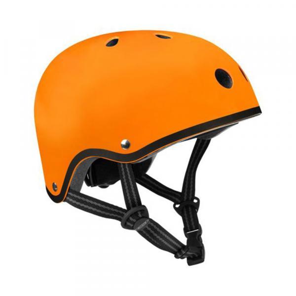 Micro Helm orange Größe S