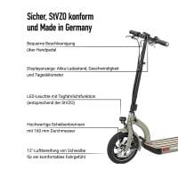 Metz moover grey E-Scooter