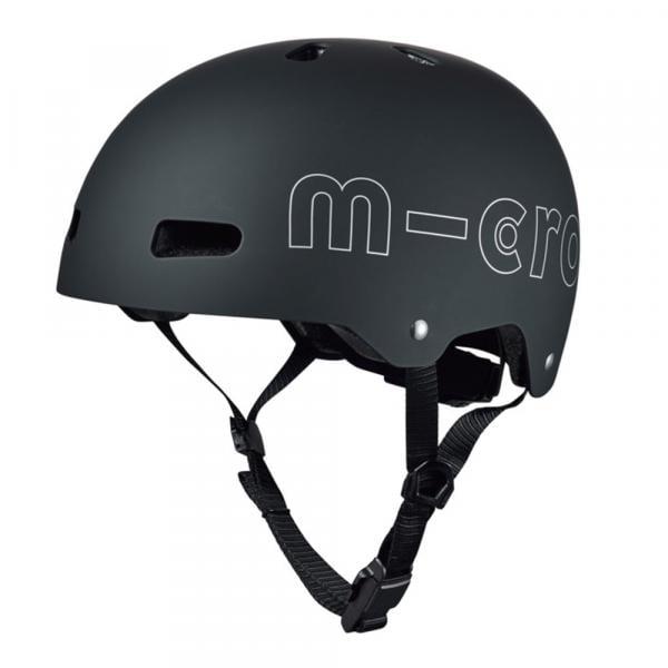 Micro Helm black Größe L